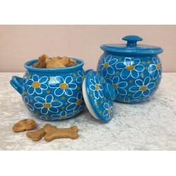 Keramik - Keksdose mit...