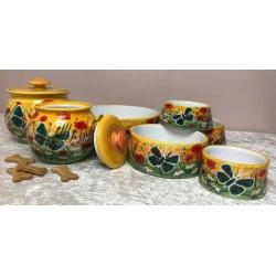 """Keramik-Hundenapf """"Grüne..."""