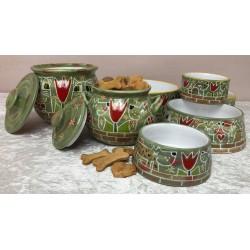 """Keramik - Hundenapf """" Vor..."""