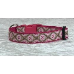 "Hundehalsband ""Rossalin "" Pink"