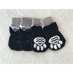 Socken für Hunde - 4er Pack...