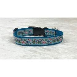 "Hundehalsband "" LOVE "" Blau"